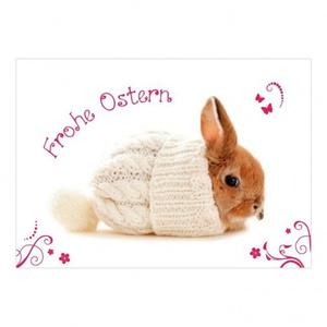 Postkarte ´´Frohe Ostern Klassik´´