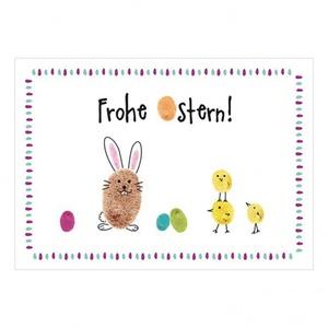Postkarte ´´Frohe Ostern!´´