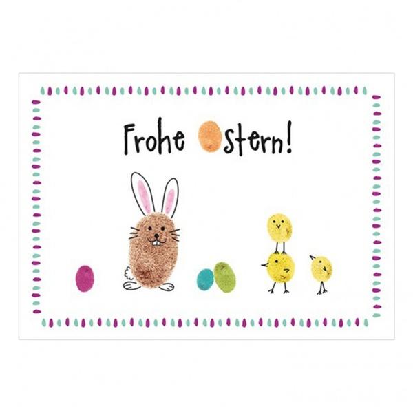 Frohe Ostern Karte.Postkarte Frohe Ostern Von Hussel
