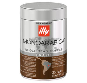 Illy             Monoarabica Brasil Espresso ganze Bohne 205g