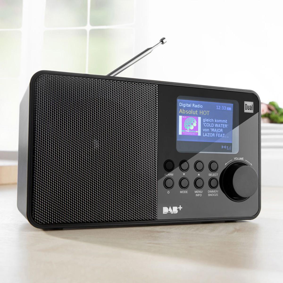 Bild 1 von DUAL Portables DAB+/ UKW-Radio DAB 18C