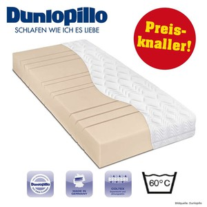 Kaltschaum Matratze 90x190cm 7 Zonen H2 Dunlopillo High Comfort Coltex