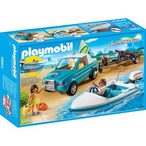 PLAYMOBIL 6864 Surfer-Pickup mit Speedboat