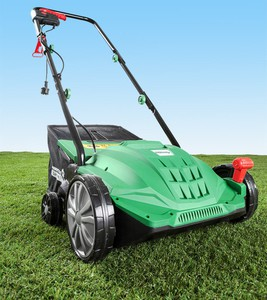 Powertec Garden Elektro- Vertikutierer und -Rasenlüfter 2in1 WR6001-1500