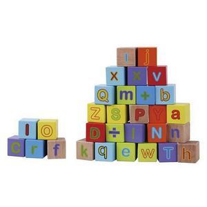 SMIKI Bausteine Alphabet 30 Stück