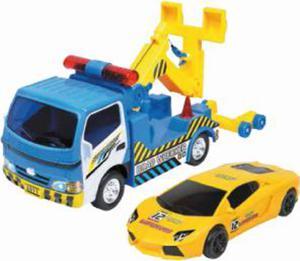 SMIKI Abschleppwagen mit Auto