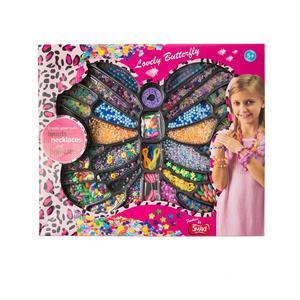 SMIKI Perlenset Schmetterling