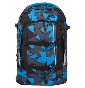 "Satch             Schulrucksack ""Blue Triangle"""