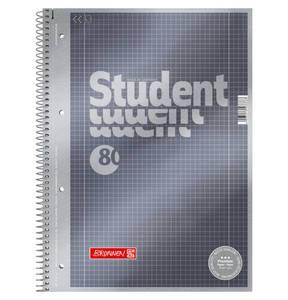 BRUNNEN        Collegeblock Linatur 28, kariert, DIN A4