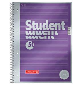 BRUNNEN        Collegeblock Notenheft, liniert, DIN A4