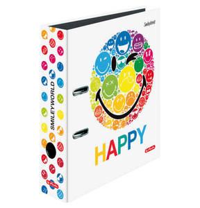 """HERLITZ        Motivordner """"Smiley World Rainbow"""" DIN A4"""