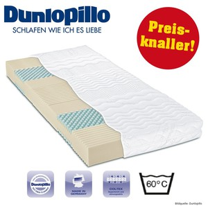 Kaltschaum Matratze 80x190cm 7 Zonen H3 Dunlopillo Multi Care Plus 2100 Coltex