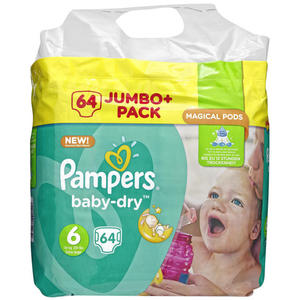 Pampers Baby Dry Extra Large Windeln Jumbo Pack