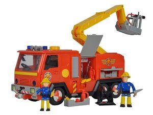 Simba Feuerwehrmann Sam Feuerwehrauto Jupiter mit 2 Figuren