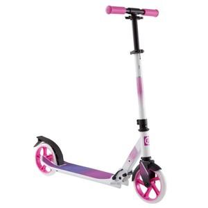 OXELO City-Roller Scooter Mid 7 weiß/rosa, Größe: Einheitsgröße