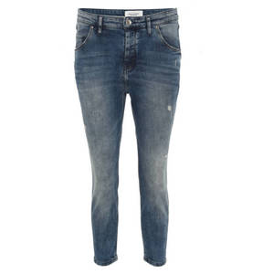 "Marc O´Polo Denim        Jeans ""Freja"", Boyfriend Fit, Used-Look, helle Waschung"