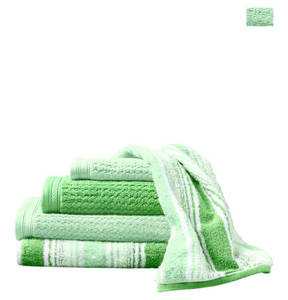 GALERIA home             Handtuch, Hochtief-Wellen-Optik, Baumwolle