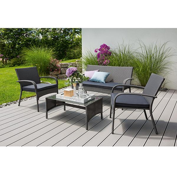 sunfun loft neila loungem bel set promo von bauhaus ansehen. Black Bedroom Furniture Sets. Home Design Ideas