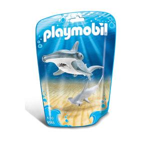 PLAYMOBIL 9065 Family Fun - Hammerhai mit Baby