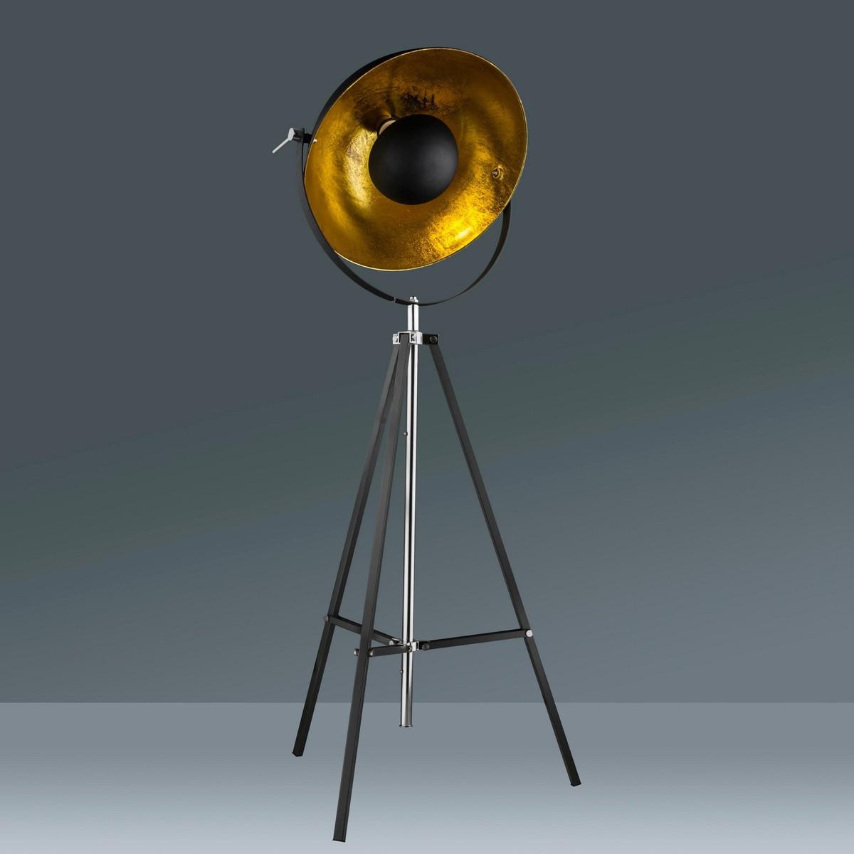 Bild 1 von Stehleuchte Jule in Schwarz/Goldfarben