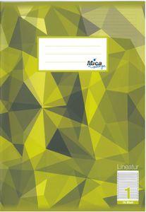 Schreibheft DIN A4 liniert - Lineatur 1 -  1. Klasse