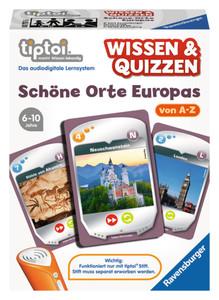 Tiptoi Wissen&Quizzen Schöne Orte Europas Ravensburger