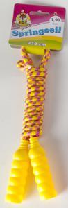 Springseil - mit Kunststoffgriffen - 210x7 cm - 1 Stück