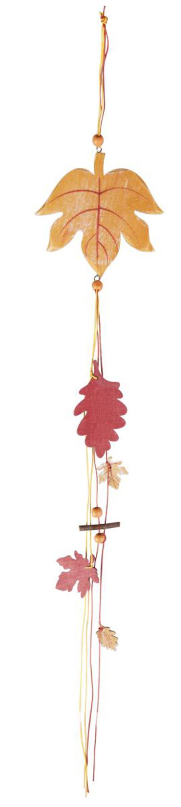 Dekohänger Herbstblatt - mit Bändern - 70 cm lang