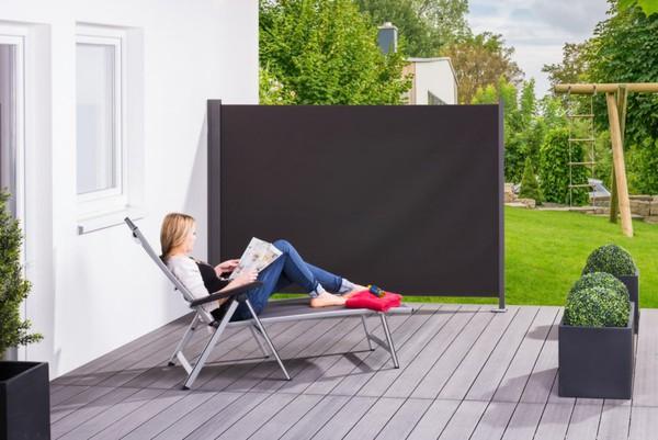 """Solax-Sunshine Seitenmarkise """"Slim"""", ca. 160x300 cm, Anthrazit"""