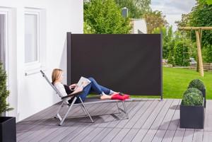 """Solax-Sunshine Seitenmarkise """"Slim"""", ca. 180x300 cm, Anthrazit"""