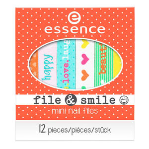 essence File & Smile Mini Nagelfeilen