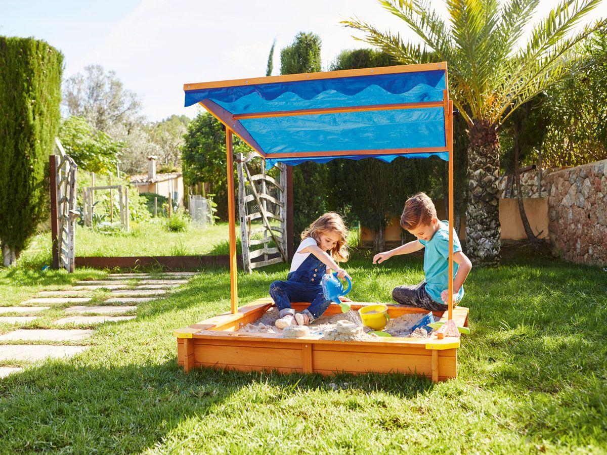 Bild 3 von PLAYTIVE® JUNIOR Sandkasten mit Dach
