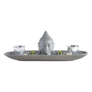 Teelichthalter Simi in Grau Aus Zement