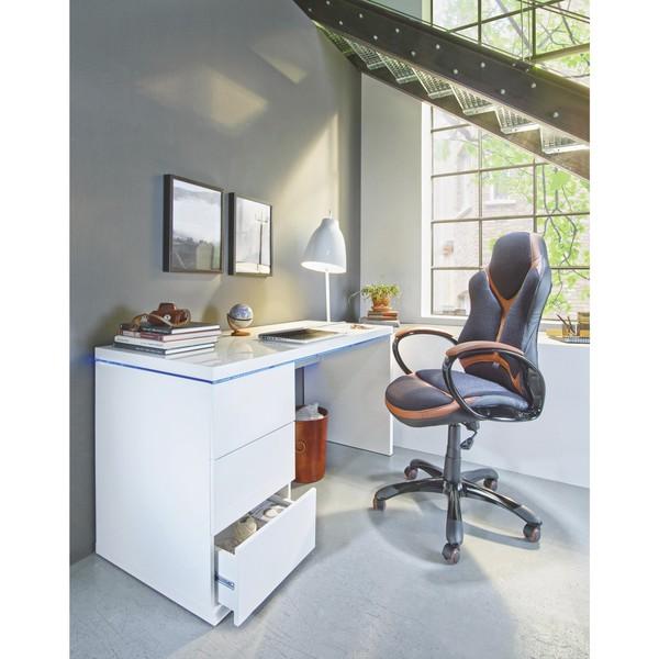 Schreibtisch In Weiß Hochglanz Von Mömax Ansehen Discountode