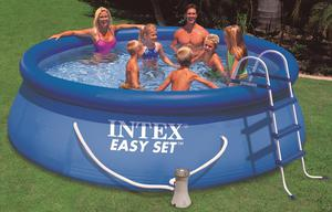 Intex Easy Pool Set 366x76 cm mit 12V Filterpumpe