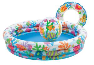 Intex 3-Ring Pool Set - Fishbowl
