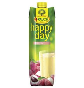 Happy Day             Lychee,1 l                  (4 Stück)