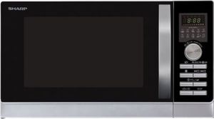 Sharp R843INW Mikrowelle mit Grill- und Heißluftfunktion