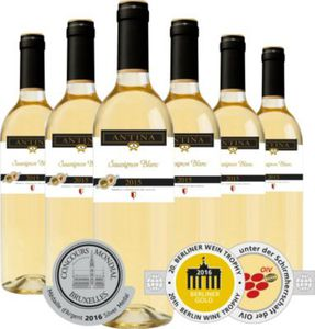 Antina Sauvignon Blanc 2015, 6er