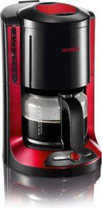 Severin KA 4177 Kaffeeautomat SELECT, schwarz-rot-metallic