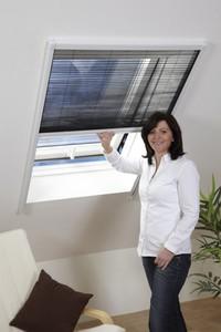 Powertec Fliegengitter-Bausatz für Dachfenster 110x160cm weiß
