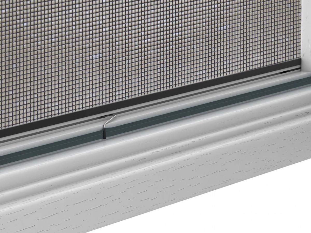 Bild 3 von Powertec Alu-Fliegengitter-Bausatz Slim 100x120cm braun