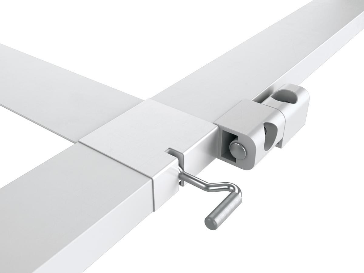 Bild 4 von Powertec Alu-Türbausatz MASTER SLIM+ 100 x 210 cm in Weiß
