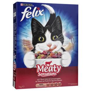 Felix Meaty Sensations Rind, Huhn & Gemüsezugabe
