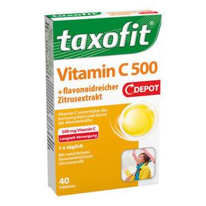 taxofit Vitamin C 500 + flavonoidreicher Zitrusextrakt