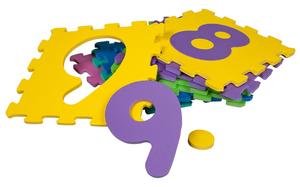 Besttoy Soft Puzzlematte mit Zahlen 0-9