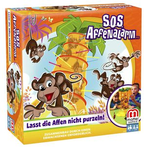 SOS Affenalarm Mattel