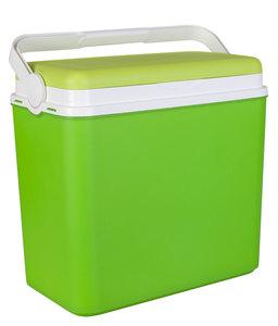 Grüne Kühlbox mit Tragegriff 24 L