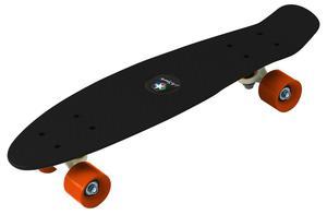 Penny Board schwarz-orange, ABEC 5