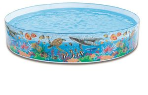 Intex Snap-Set Pool Coral Reef
